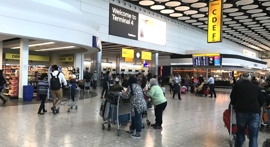 Travel With Group And Large Bags From Heathrow Airport